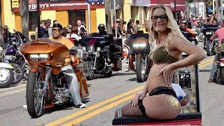 Bikes on Main Street - Daytona Bike Week 2020